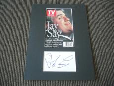 "Jay Leno Tonight Show Signed Autographed 10""x13"" Photo Display PSA Guaranteed"