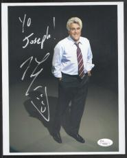 Jay Leno ''yo Joseph'' Signed 8''x10'' Photo Photograph Jsa Authentication