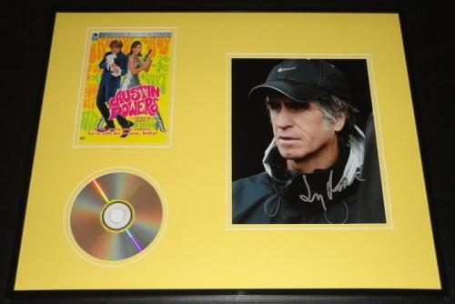 Jay Roach Signed Framed 16x20 Photo & Austin Powers DVD Display AW