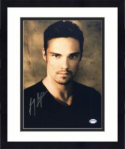 Jay Ryan Signed 11x14 Photo *Dr. Vincent Keller PSA AG85565