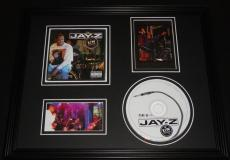 Jay Z 2001 MTV Unplugged Framed 11x14 CD & Photo Display