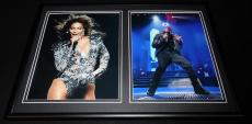 Jay Z & Beyonce Framed 12x18 Photo Display