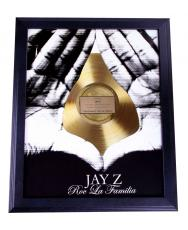 Jay-Z The Dynasty Roc La Familia Gold Record Award non-Riaa cd