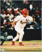 "J.D. Drew St. Louis Cardinals Autographed 16"" x 20"" Looking Photograph"