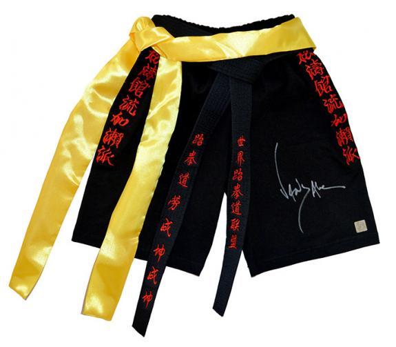 Jean Claude Van Damme Autographed Bloodsport Trunks