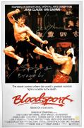 "Jean Claude Van Damme & Bolo Yeung ""Chong Li"" Autographed Bloodsport 16x24 Movie Poster"