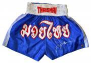Jean Claude Van Damme Autographed Kickboxer Trunks