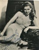 Jean Kent U.k. Actress / Marilyn Monroe Co-star Signed Vintage Photo Autograph