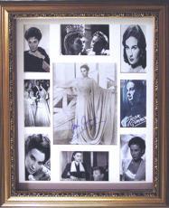 Jean Simmons Autographed Signed Vintage Photo Display    AFTAL