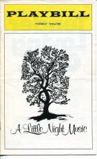 Jean Simmons Margaret Hamilton Stephen Sondheim A Little Night Music Playbill