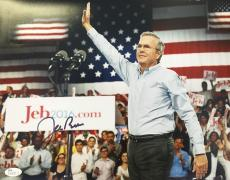 Jeb Bush 2016 Presidential Hopeful 11x14 Signed Photo JSA N35153
