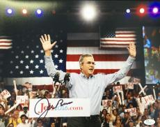 Jeb Bush 2016 Presidential Hopeful 11x14 Signed Photo JSA N35157