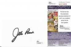 Jeb Bush Presidential Signed Autographed 3x5 Index Card Jsa Coa Invest Now! Rare
