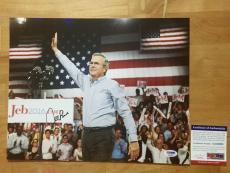 Jeb Bush Signed 11x14 Photo PSA/DNA Coa