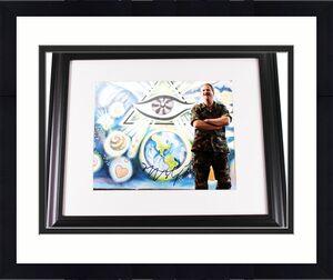Jeff Bridges Autographed Signed 11x14 Photo UACC RD AFTAL