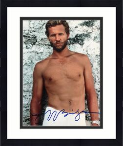 Jeff Bridges Signed Against All Odds 8x10 Photo