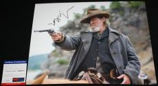 Jeff Bridges signed 11 x 14, True Grit, Big Lebowski, Crazy Heart, Tron, PSA/DNA