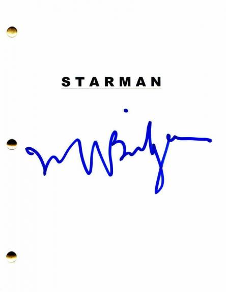 Jeff Bridges Signed Autograph - Starman Full Movie Script - Karen Allen The Dude