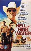 Jeff Bridges Signed Hell Or high Water 11x17 Photo Beckett BAS C17366