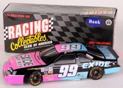 Jeff Burton #99 Exide Batteries NASCAR 1:24 Diecast Car