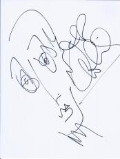 Jeff Coffin Dave Matthews Band Signed Autographed Hand Drawn Portrait Sketch A