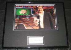 Jeff Foxworthy Are You Smart Signed Framed Photo 11x14