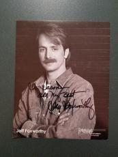 Jeff Foxworthy Autographed 8x10 photo - coa - 5
