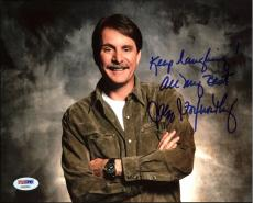 "Jeff Foxworthy Comedian ""Keep Laughing!"" Signed 8X10 PSA/DNA #AA83481"