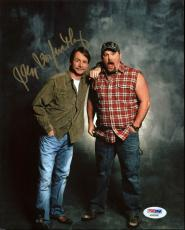 Jeff Foxworthy Comedian Signed 8X10 Photo w/ Larry the Cable Guy PSA #AA83480