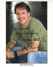 JEFF FOXWORTHY HAND SIGNED 8x10 PHOTO+COA       REDNECK COMEDIAN     TO DAVID