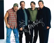 JEFF FOXWORTHY, LARRY THE CABLE GUY, BILL ENGVALL signed 11X14 PHOTO with COA