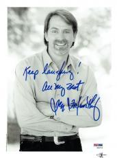 Jeff Foxworthy Signed Authentic Autographed 8.5x11 Photo PSA/DNA #W98723
