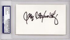 Jeff Foxworthy Signed - Autographed 3x5 inch Index Card - Comedian, Actor and television host - PSA/DNA Authenticity (COA) - PSA Slabbed Holder