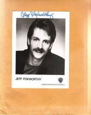 Jeff Foxworthy-signed photo - coa - 3