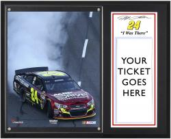 Jeff Gordon 2013 Goody's 500 Sublimated 12'' x 15'' I Was There Plaque - Mounted Memories