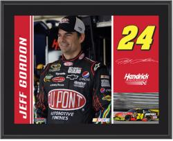 "Jeff Gordon 10"" x 13"" Sublimated Plaque - Mounted Memories"