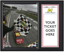 Jeff Gordon 2011 AdvoCare 500 at Atlanta Motor Speedway ''I Was There'' 12'' x 15'' Sublimated Plaque - Mounted Memories