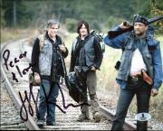Jeff Kober The Walking Dead Signed 8X10 Photo Autographed BAS #B03820