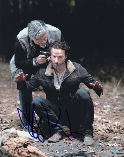 Jeff Kober The Walking Dead Signed 8x10 Photo w/COA #1