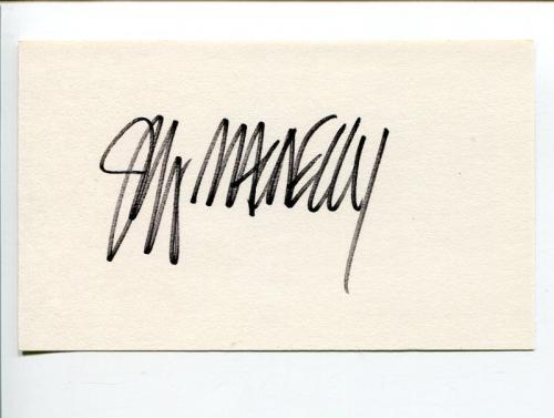 Jeff MacNelly Pulitzer Winner Editorial Cartoonist Shoe Comic Signed Autograph