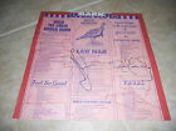 Jefferson Airplane Bark Signed LP Album Sleeve x2 Jack & Jorma PSA Guarantee