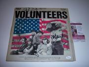 Jefferson Airplane Volunteers 3 Signatures Jsa/coa Signed Lp Record Album