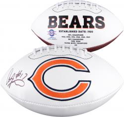 Alshon Jeffery Chicago Bears Autographed White Panel Football - Mounted Memories