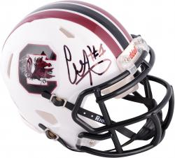 Alshon Jeffery South Carolina Gamecocks Autographed Riddell Mini Helmet - Mounted Memories