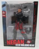 Jeffrey Dean Morgan Negan Signed The Walking Dead 10 Inch McFarlane Figurine JSA