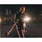 "Jeffery Dean  Morgan ""Negan"" Signed Walking Dead 16X20 Photo"