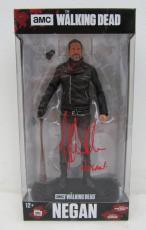Jeffrey Dean Morgan Signed The Walking Dead Negan McFarlane Figurine JSA