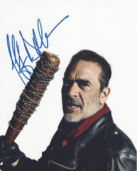 "JEFFREY DEAN MORGAN as NEGAN on TV Series ""THE WALKING DEAD"" Signed 8x10 Color Photo"