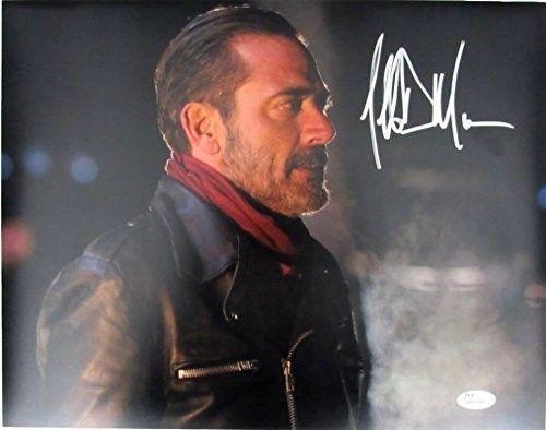 Jeffrey Dean Morgan Negan Walking Dead Autographed/Signed 11x14 Photo JSA 129318