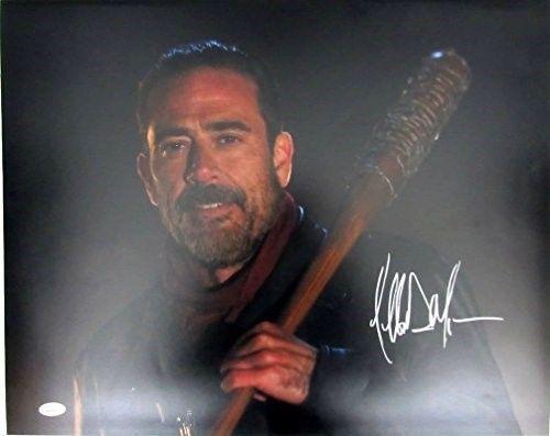 Jeffrey Dean Morgan Negan Walking Dead Autographed/Signed 16x20 Photo JSA 129320